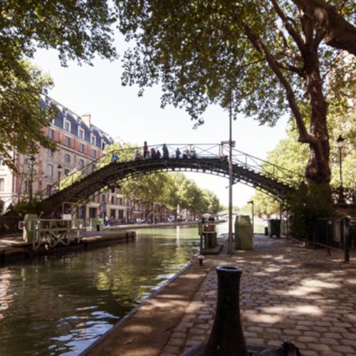 Quartier Quartier Canal Saint Martin